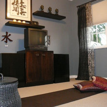 Asian Home Gym By Focal Point Styling