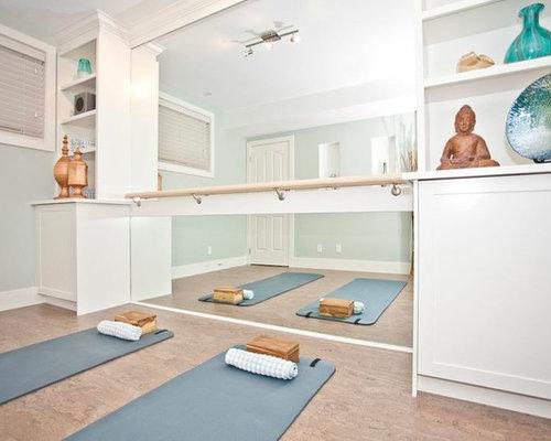 Calgary home gym design ideas renovations photos
