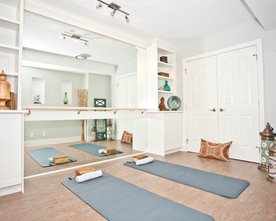 Beautiful Home Yoga Studio Design Ideas, Pictures, Remodel U0026 Decor