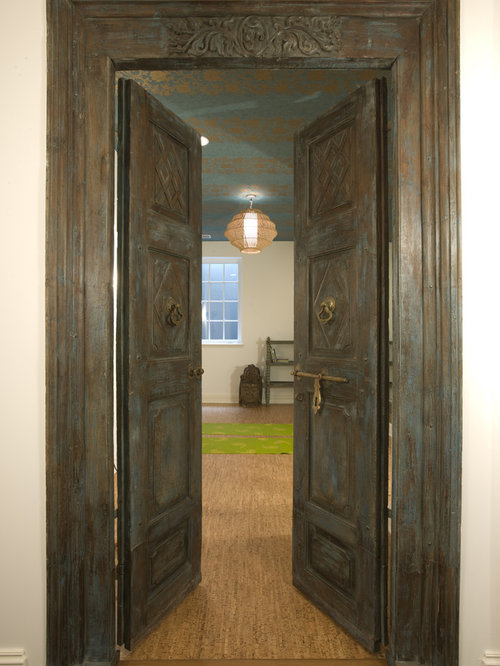 Foyer Door Yoga : Old look door houzz