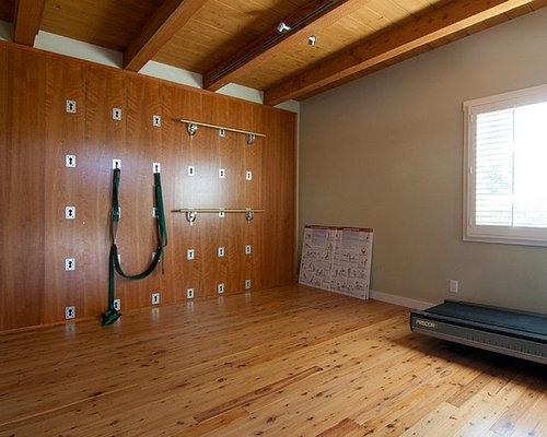 Beach Style Home Yoga Studio Design Ideas Pictures Remodel Decor