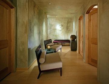 Yoga Studio Lounge Area