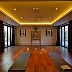 Courtyard Residence Modern Home Gym San Francisco