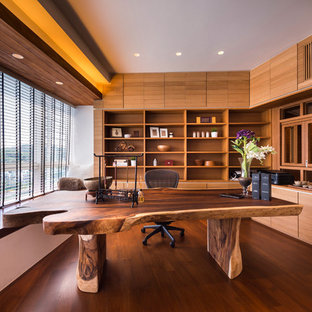 Home office - asian home office idea in Singapore