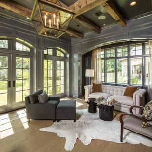 Elegant Home Office Photo In Houston