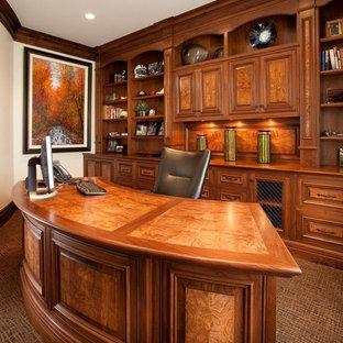 Пример оригинального дизайна: кабинет в классическом стиле
