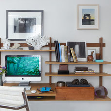 Contemporary Home Office by Jarret Interior Design