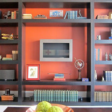 Contemporary Home Office by Busybee Design