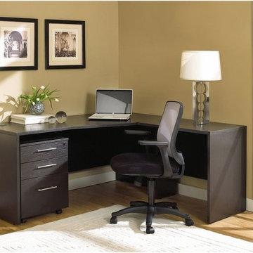 100 Collection Corner L Shaped Desk with Mobile Pedestal,
