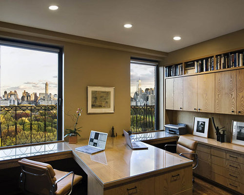 Best Office For Two People Design Ideas & Remodel Pictures | Houzz