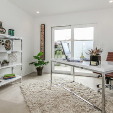 Tropical Home Office by Jeff Pittman Homes