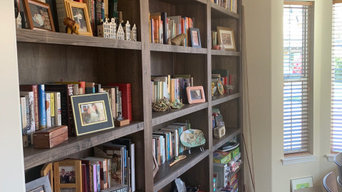 12-foot Built in Bookcase