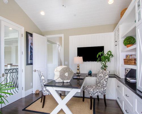 beach style shag home office design ideas renovations