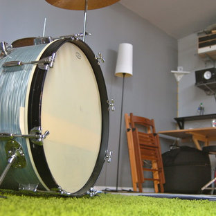 12x18 Musician's Drum Studio Shed