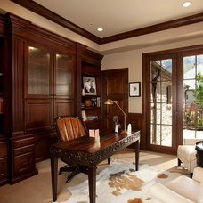 Traditional Home Office by Magleby Construction