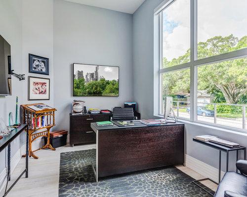 Eclectic Home Office eclectic home office ideas & design photos | houzz