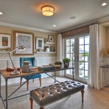 Beach Style Home Office by Spinnaker Development