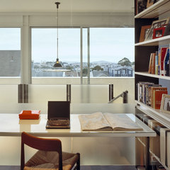 contemporary home office by Fougeron Architecture FAIA