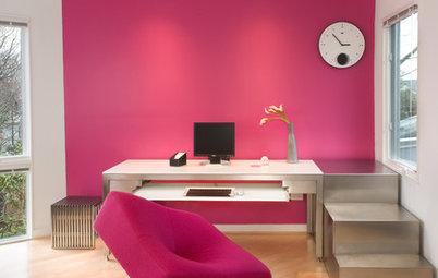 15 id es d co pour dynamiser une cuisine blanche for Quelle couleur pour un bureau professionnel