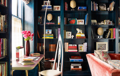 Decorating: Turn Your Bookcase into a Colourful Focal Point