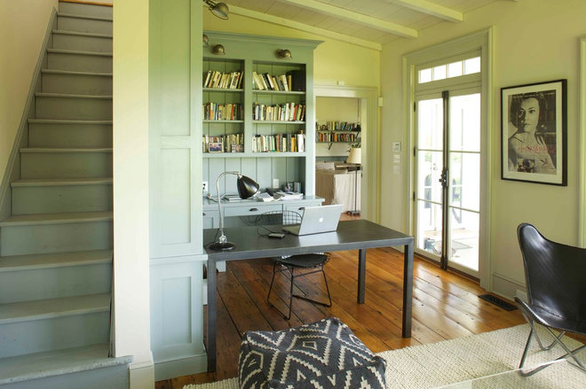 farmhouse home office by KATE JOHNS AIA