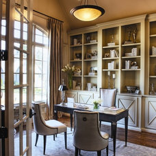 Traditional Home Office by Milestone Custom Homes
