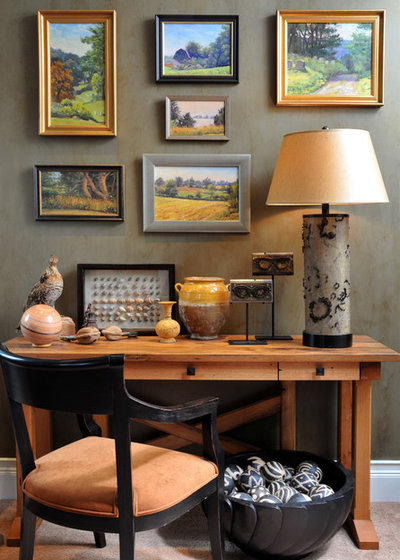 Southwestern Home Office by Robin Muto