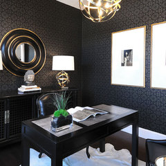 traditional home office by Atmosphere Interior Design Inc.