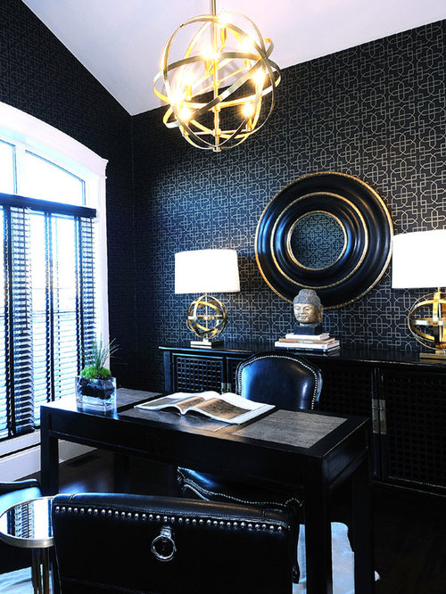 best black gold office design ideas amp remodel pictures houzz antique gold table lamps home design ideas