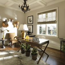 Traditional Home Office by Castle Homes
