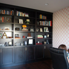 Traditional Home Office by Dietrich Homes