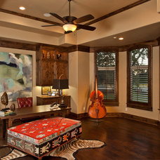 Traditional Home Office by Dale Sauer Homes