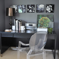 contemporary home office by Thomas & Jayne Interior Design