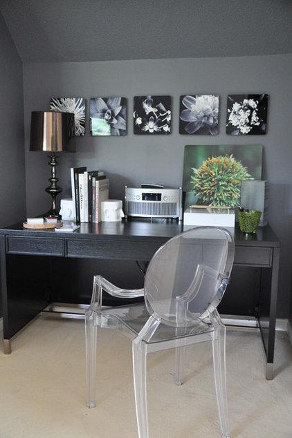 Contemporary Home Office by Thomas & Jayne Interior Design