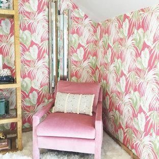 Пример оригинального дизайна: кабинет в стиле ретро