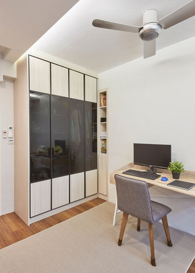 Contemporary Home Office by Ban Yew Timber & Renovation Construction