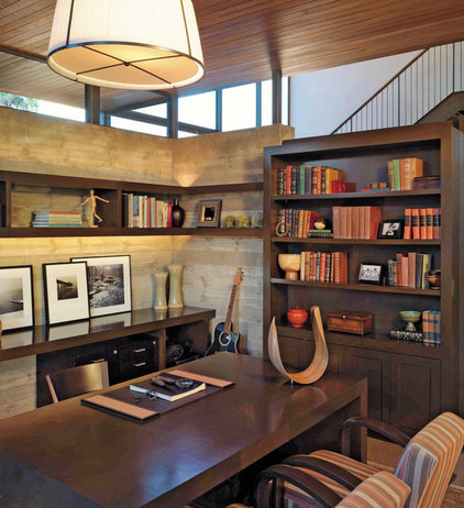 Contemporary Home Office by Kirkpatrick Architects