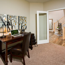 Traditional Home Office by Cedarglen Homes