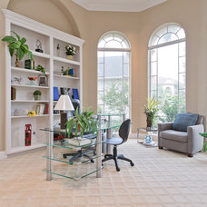 Contemporary Home Office by Attractive Listing