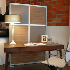 Modern Home Office by LOFTwall Divider Solutions