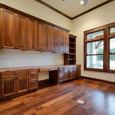 Traditional Home Office by Nalle Custom Homes