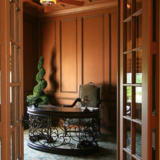 Traditional Home Office by McNally Construction