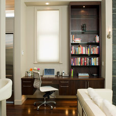 Contemporary Home Office by Tommy Hein Architects