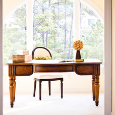 tropical home office by Just Perfect! Home Staging + More