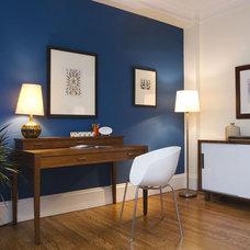 Contemporary Home Office by Gigi Park