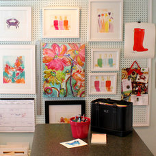 Contemporary Home Office by Bright Bold and Beautiful