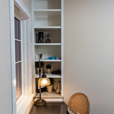 Transitional Home Office by Archer Construction