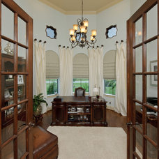 Traditional Home Office by Heavenly Homes
