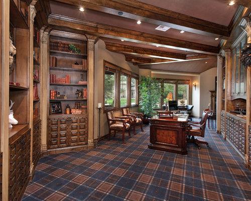 Plaid Carpet Houzz