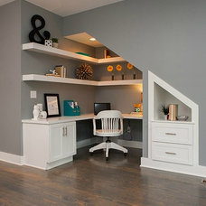 Transitional Home Office by Fresh Perspectives